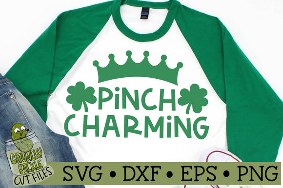 Pinch Charming - St. Patrick's Day SVG File