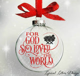 For God So Loved The World Nativity