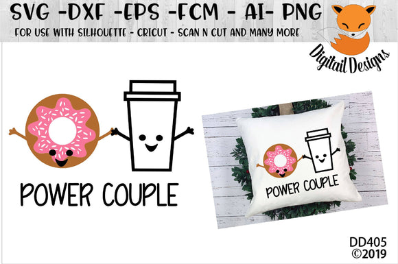 Donut and Coffee Power Couple