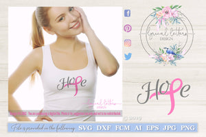 Hope with Pink Ribbon