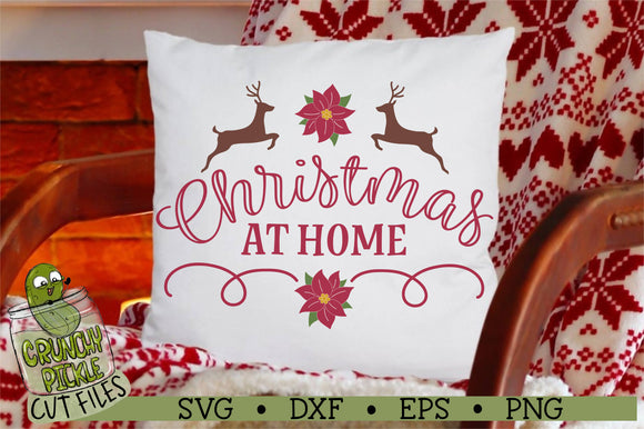Christmas at Home SVG Cut File
