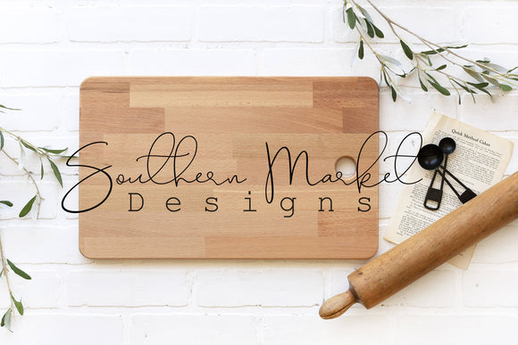 WOOD BAMBOO CUTTING BOARD FARMHOUSE DIGITAL MOCK UP STOCK PHOTOGRAPHY