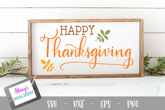 Thanksgiving SVG - Happy Thanksgiving SVG