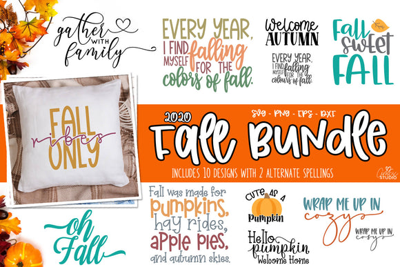 Fall SVG Bundle 2020