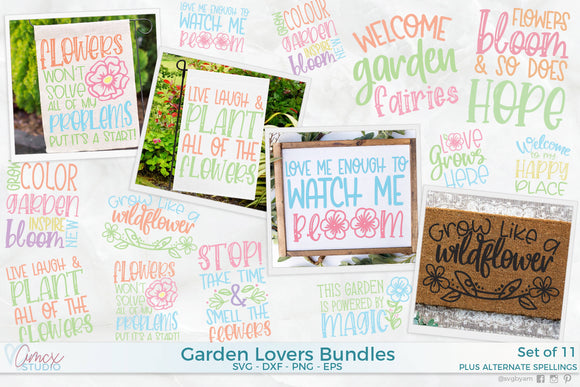 Flower Garden Bundle