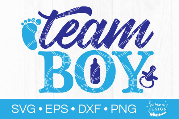 Team Boy SVG
