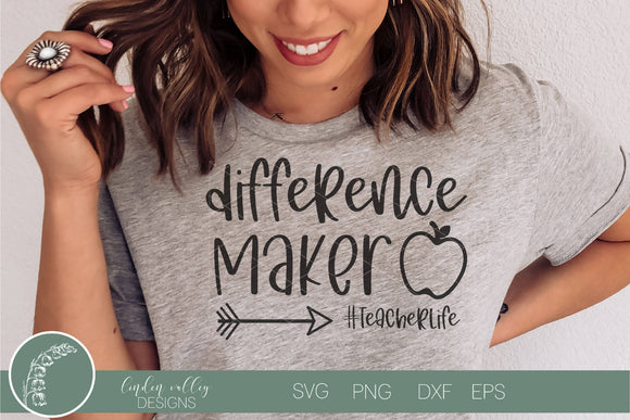 Difference Maker SVG|