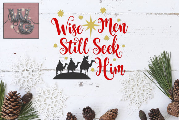 Wise Men Still Seek Him Cut File WG108