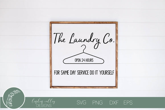 The Laundry Co SVG