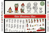 Cute Christmas Clan Toolkit
