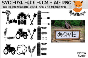 Farming Farm Love SVG