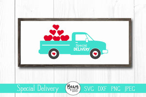 Special Delivery Valentine's Truck