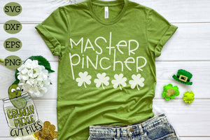 Master Pincher - St. Patrick's Day SVG File