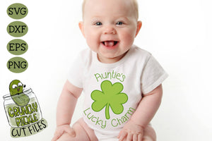 Auntie's Lucky Charm - St Patrick's Day SVG File