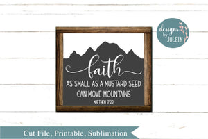 Faith as small as a mustard seed