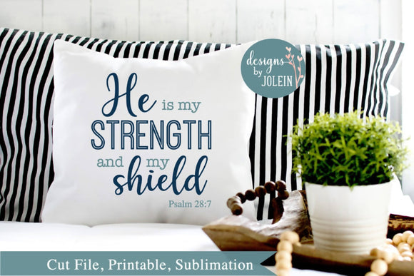 He is my strength