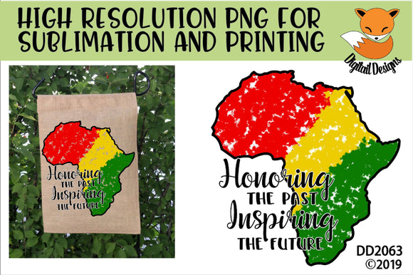 Black History Month Sublimation
