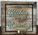 This Kitchen Was Made for Dancing