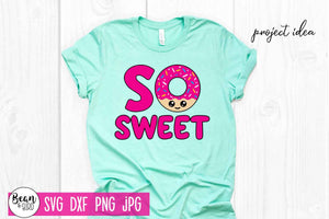 So Sweet Donut Design