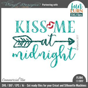 Kiss me at Midnight Cut File