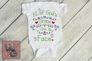 All God's Grace Cut File WG144
