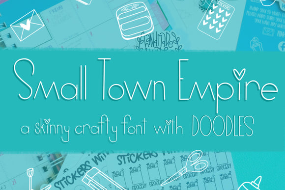 Small Town Empire Font