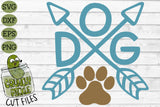 Dog Arrows SVG