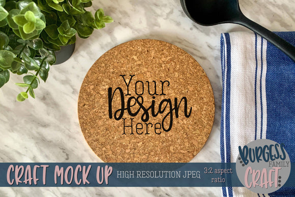 Round trivet | Craft mock up