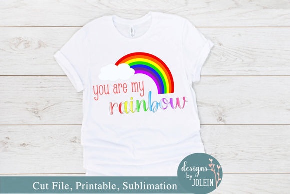 You are my rainbow