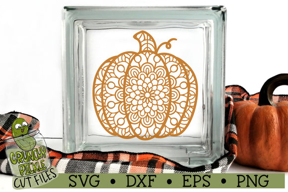 Mandala Pumpkin 1 SVG Cut File