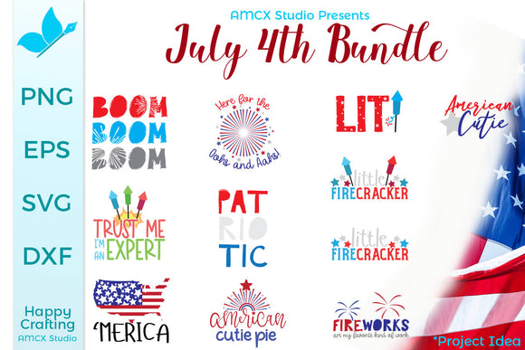 4th Of July Quote Bundle