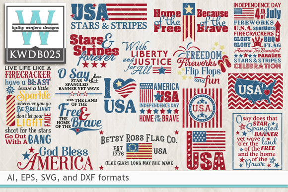 BUNDLE - Patriotic SVG Bundle1