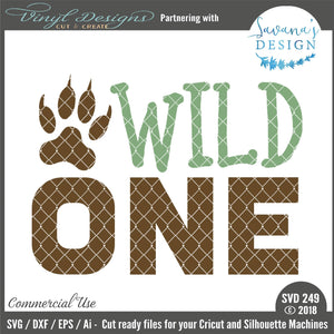 Wild One Cut File
