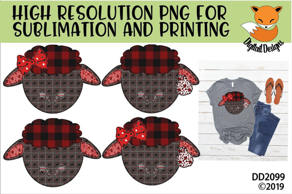 Canadian Patchwork Sheep Sublimation