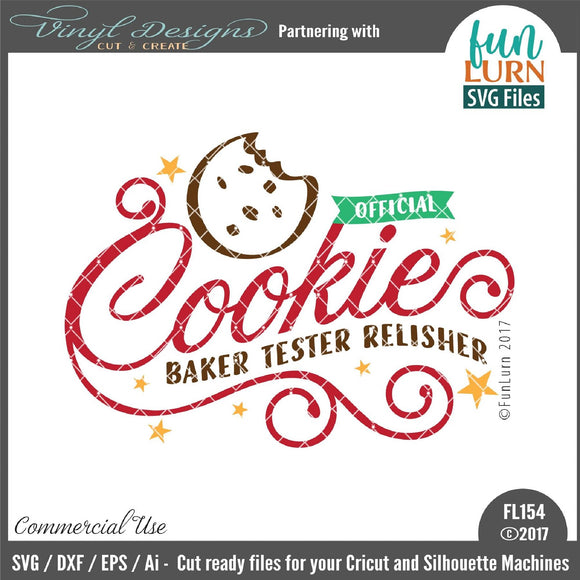 Official Cookie Tester Cut File