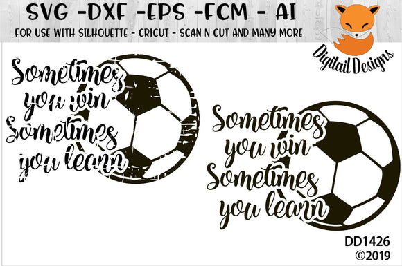 Soccer Motivational SVG Quote