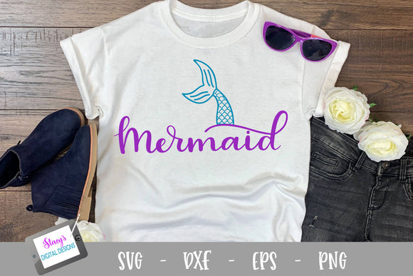 Mermaid SVG - Mermaid SVG - Mermaid Tail