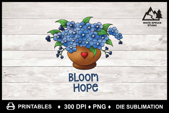 Bloom Hope - Printable