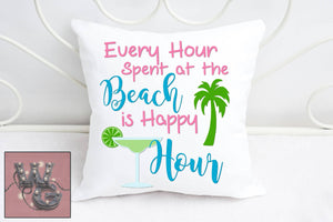 Beach Happy Hour Cut File WG180