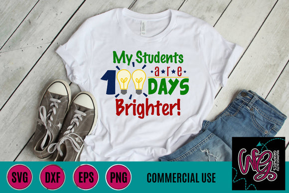 100 Days Brighter Cut School File