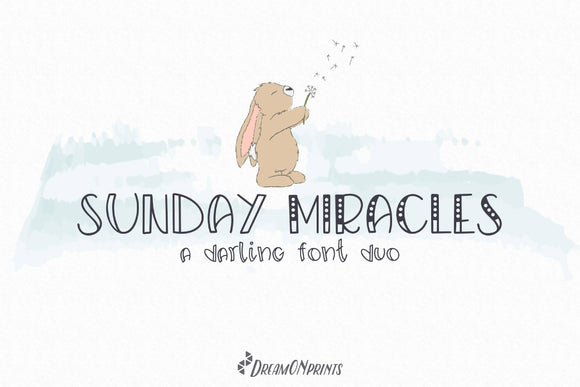 Sunday Miracles - Font Duo