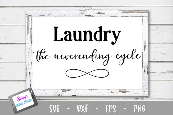 Laundry SVG - Laundry - The neverending cycle