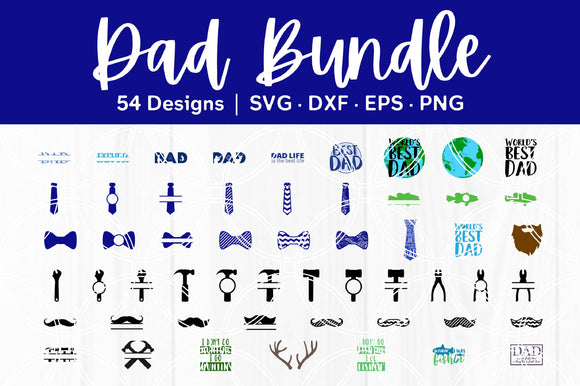 Dad Cut File Bundle