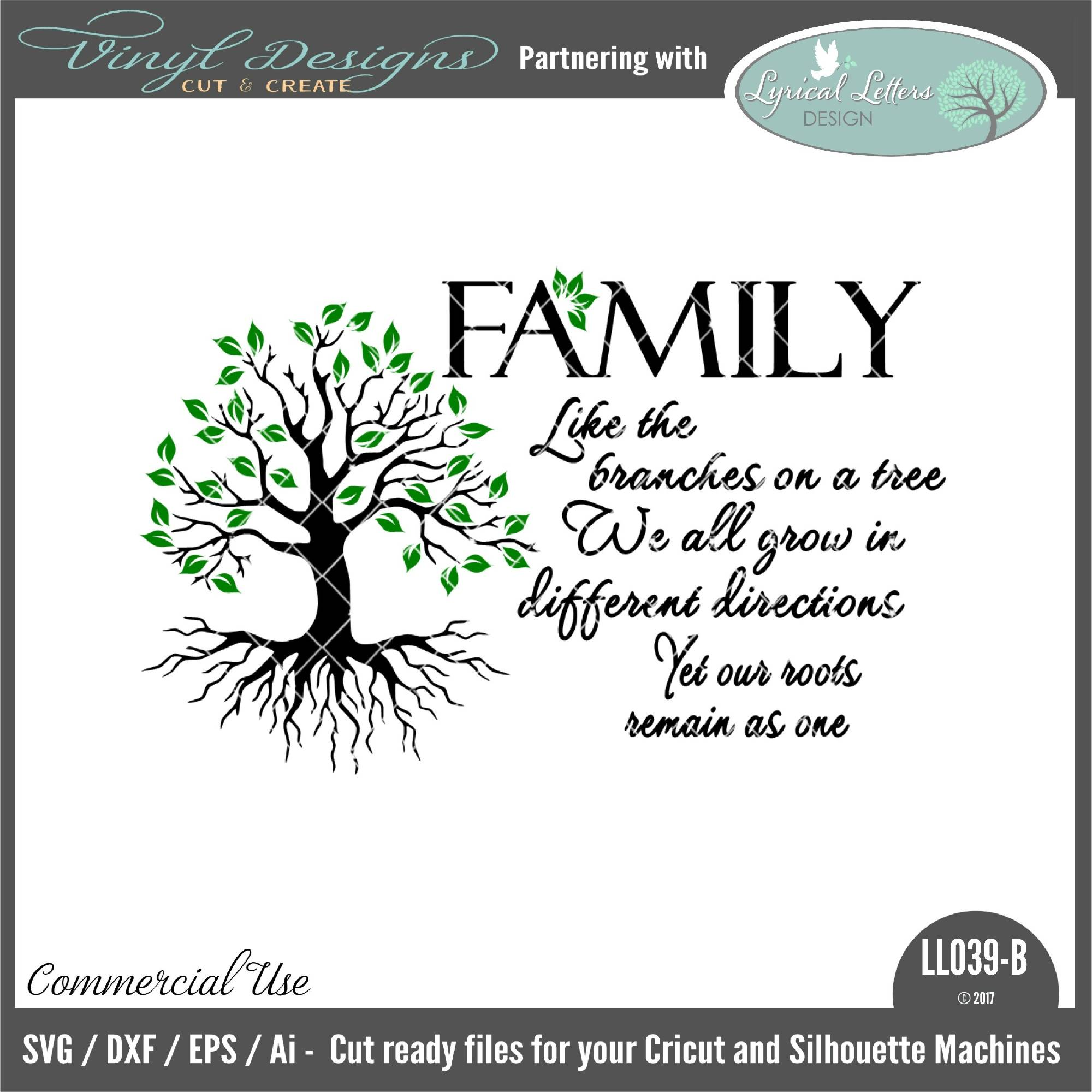 Family Like The Branches On A Tree Svg Font Market
