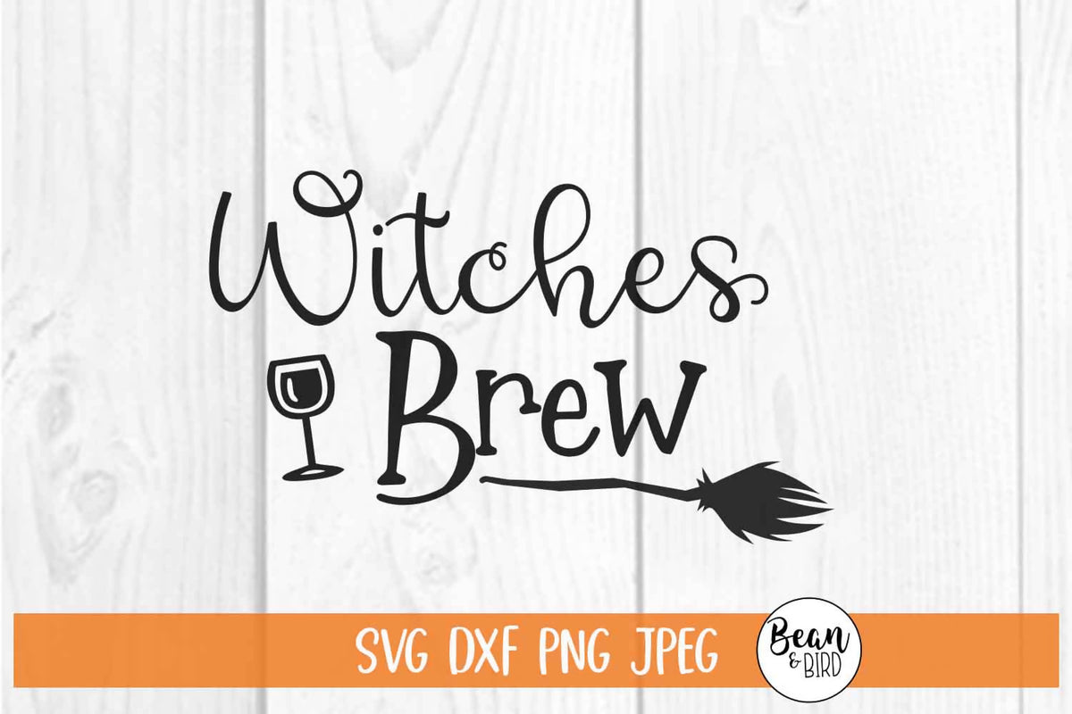 Witches Brew Svg Font Market