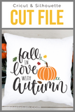 Fall in Love with Autumn SVG | DXF Cut File