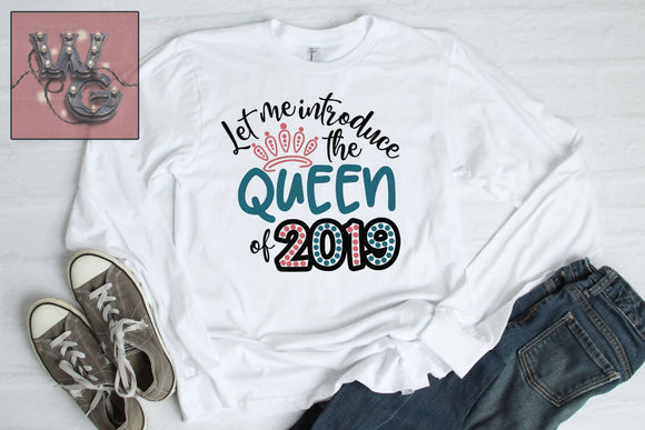 New Queen of 2019 Cut File WG720