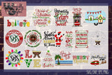 Ultimate Christmas Bundle Cut Files WG595