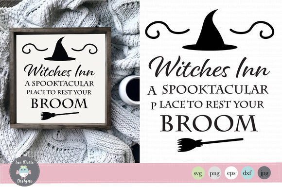 Witches Inn Svg