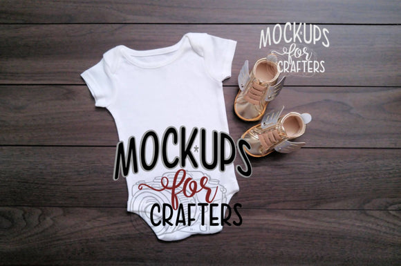 MOCK-UP One pc baby bodysuit